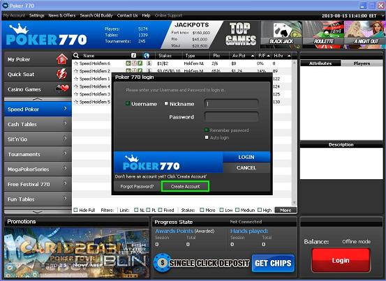 Poker770 casino bonus list of slot machines at caesars palace